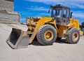 Free Yellow Loader Royalty Free Stock Photography - 15852527