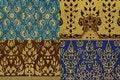 Free Thai Print Cloth Texture Royalty Free Stock Image - 15854436