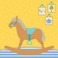 Free Baby Rocking Horse Royalty Free Stock Photo - 15859335