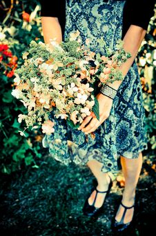 Free Bride Bouquet 1 Stock Photo - 15850080