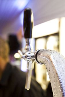 Free Draught Spout With Condensation Royalty Free Stock Photo - 15850095