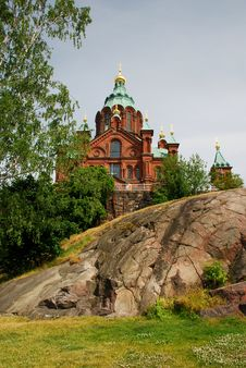 Free Uspenski Cathedral In Helsinki Royalty Free Stock Image - 15850246