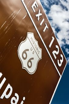 Free The Famous Route 66 Stock Photos - 15850293