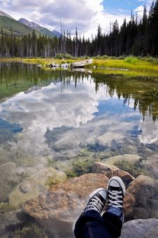 Free Lake Reflection Royalty Free Stock Photography - 15850417