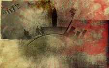 Free Grunge Background Textile Stock Images - 15850554
