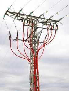 Free Reliance Power Line Stock Photo - 15850730