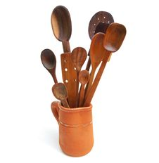 27 Wooden Spoons Royalty Free Stock Photography