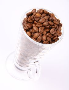 Free Glass Of Coffee Beans Stock Photos - 15851203