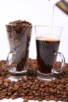 Free Making Of Caffe Latte Stock Image - 15851321