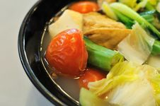 Free Chinese Vegetable Soup Stock Photo - 15851500