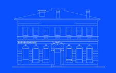 Free Heritage Mansion Building Print Royalty Free Stock Photos - 15851618