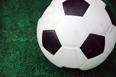 Free Soccer Turf Royalty Free Stock Images - 15851749