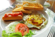 Free Breakfast Stock Photography - 15852202