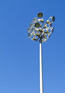 Free Stadium Lighting Stock Photo - 15852520