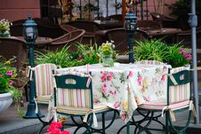 Free Summer Open Air Cafe Stock Photos - 15853053
