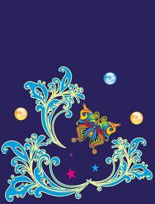 Free Uzor Royalty Free Stock Image - 15853276