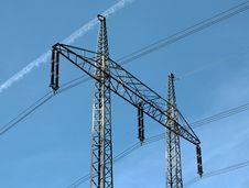 Free Electricity Pylons Stock Images - 15853464