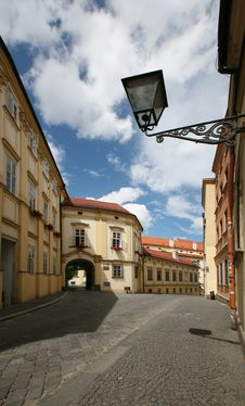 Historical Building In Center Of City Brno Royalty Free Stock Photo