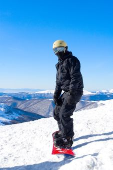 Free Snowboarder Stock Images - 15853754