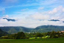 Free Beautiful Alps In The Clouds Taken In Slovenia Stock Photo - 15854330