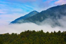 Free Beautiful Alps In The Clouds Taken In Slovenia Royalty Free Stock Photography - 15854367