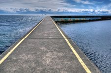 Free Ogden Point Breakwater Royalty Free Stock Photo - 15857385