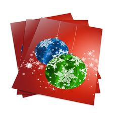 Free 3d Render Christmas Notebook Stock Photos - 15857453