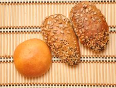 Free Fresh Bread Rolls Royalty Free Stock Photos - 15857998