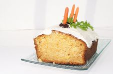 Carrot Loaf Royalty Free Stock Photography