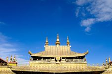 The Golden Roof Royalty Free Stock Photo
