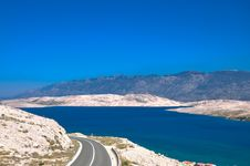 Beautiful Bay And Mountains Stock Images