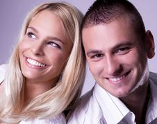 Free Young Love Couple Have A Romance Royalty Free Stock Image - 15858686