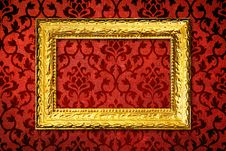 Gold Frame Stock Photography