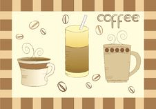 Free Coffee Set Stock Photography - 15859932