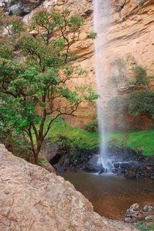 Bridal Veil Waterfall Stock Photography