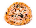 Free Pizzaon A White Stock Photography - 15867612