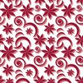 Free Seamless Flower Pattern Stock Photography - 15867662