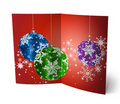 Free 3D Christmas Greeting Card Royalty Free Stock Photo - 15869065