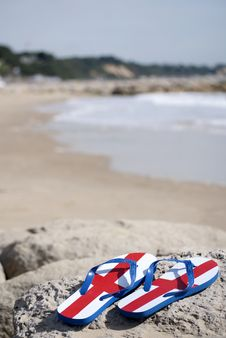 Free English Beach Royalty Free Stock Image - 15860126