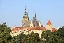 Free Prague Gothic Castle Royalty Free Stock Photos - 15860418