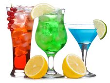 Free Fruits Cocktails Stock Photography - 15860542