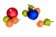 Free Various Christmas Decorations Isolated Stock Photos - 15860653