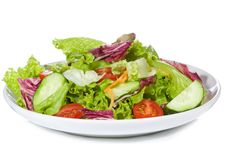 Free Salad With Vegetables Royalty Free Stock Images - 15860709