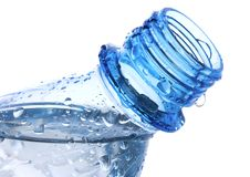 Free Plastic Bottle With Waterdrops Stock Photos - 15860813