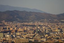 Free Panoramic View Of Barcelona Stock Image - 15861791