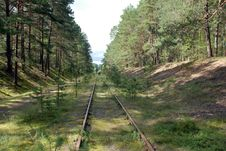 Free Old Railway Is Closed. Stock Image - 15861931