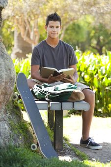 Free Student A Park Stock Images - 15862264