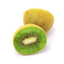Kiwi Fruit Isolated On White Royalty Free Stock Photography