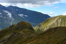 Free Mountain Landscape In The Alpes Royalty Free Stock Photos - 15862668
