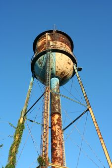 Old Watertower Stock Photography